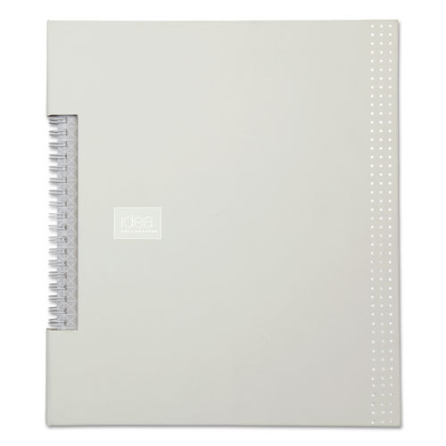 Idea Collective Professional Wirebound Notebook, White, 8 1/2 x 11, 80 Pages