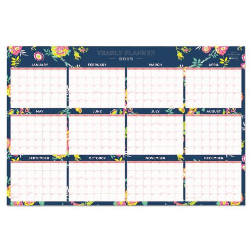Day Designer Laminated Wall Calendar 36 X 24 2018 Zuma