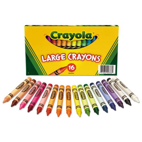 Cyo520336 Crayola Large Crayons Zuma