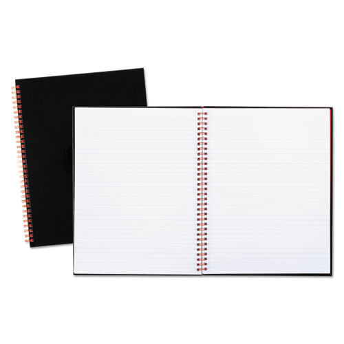 Black n' Red™ Twinwire Hardcover Notebook, Legal Rule, 11 x 8 1/2, White, 70 Sheets