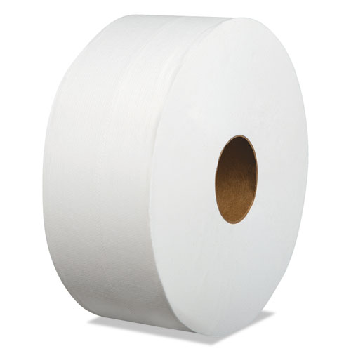 Laminated Jumbo Roll Toilet Tissue, Septic Safe, 2-Ply, White, 3.2 x 700 ft, 12/Carton