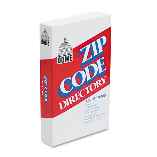 Zip Code Directory, Paperback, 750 Pages | by Plexsupply
