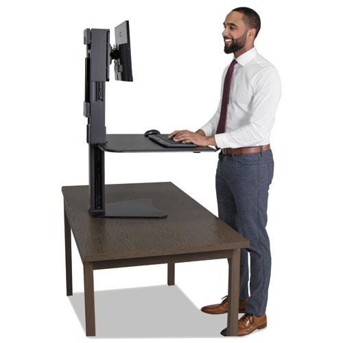 High Rise Standing Desk Workstation 28 X 23 X 15 1 2