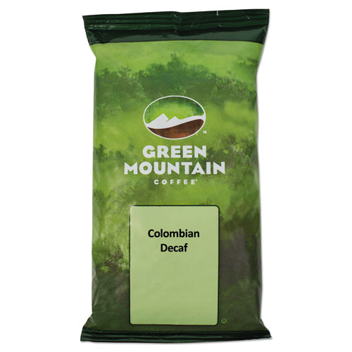 Green Mountain Coffee® Colombian Supremo Decaf Coffee Fraction Packs, 2.2oz, 50/Carton