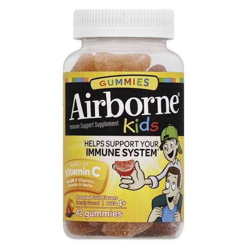 Kids Immune Support Gummies, Assorted Fruit Flavors, 42 Count