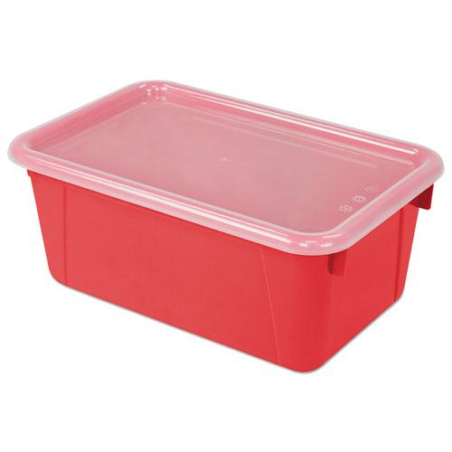Cubby Bins, 12.25 x 7.75 x 5.13, Red, 6/PK