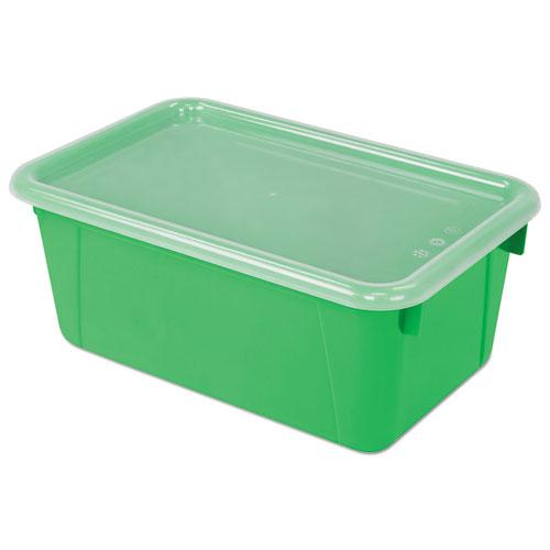 Cubby Bins, 12.25 x 7.75 x 5.13, Green, 6/PK