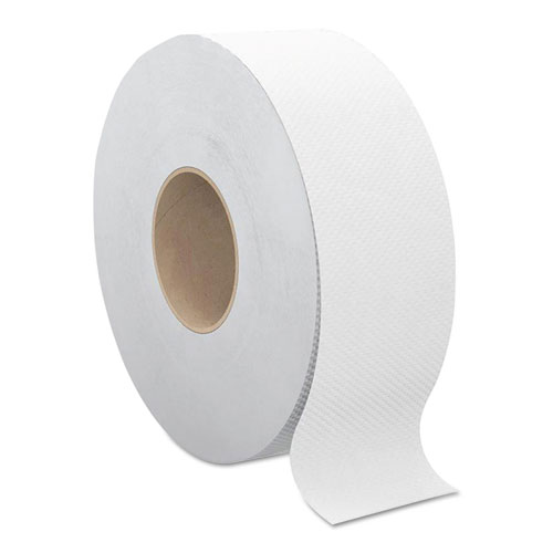 Select Jumbo Bath Tissue, Septic Safe, 2-Ply, White, 3.3 x 1000 ft, 12 Rolls/Carton