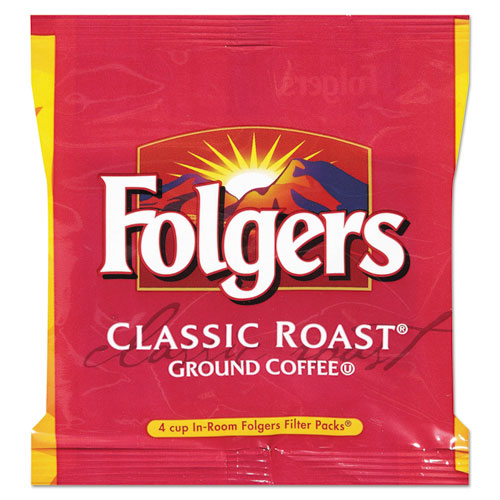 Folgers® Ground Coffee, Classic Roast Decaffeinated, Ground, 22 3/5oz, Can, 6/Carton