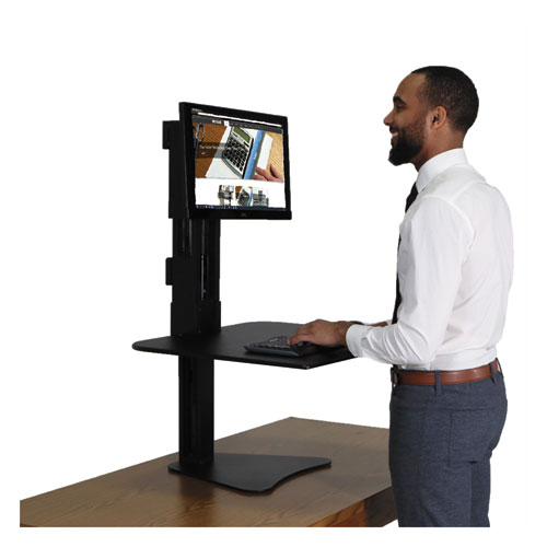 High Rise Standing Desk Workstation 28w X 23d X 15 5h