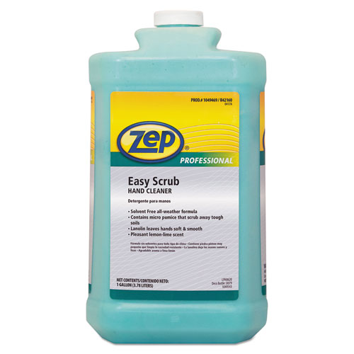 Industrial Hand Cleaner, Easy Scrub, 1 gal Bottle, 4/Carton