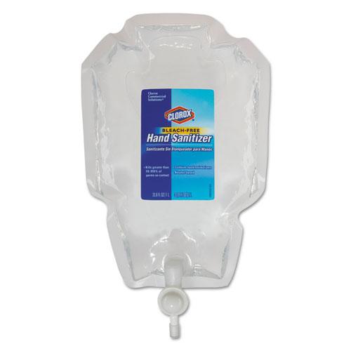 Push Button Dispenser Refill Liquid Hand Sanitizer, 1 L Bag