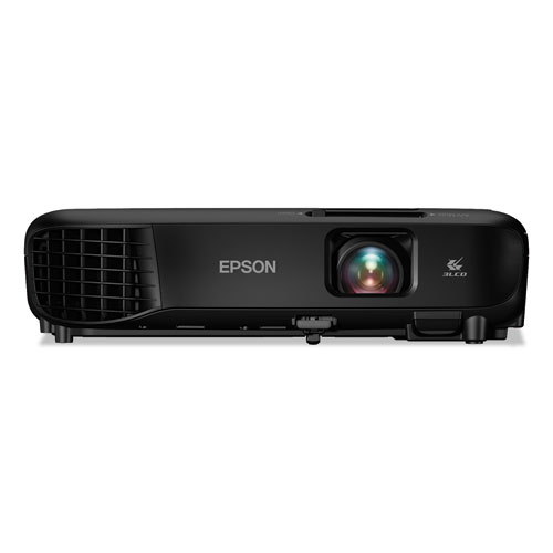 PowerLite 1266 Wireless 3LCD Projector, 3600 lm, 1280 x 800 Pixels, 1.2x Zoom
