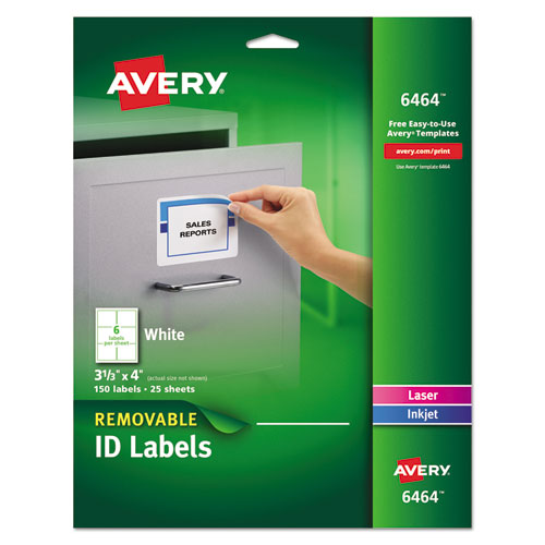 AVE6464 Avery Removable Multi-Use Labels