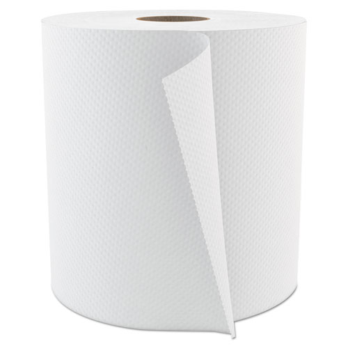 "Cascades PRO Select Roll Paper Towels, 1-Ply, 7.875"" x 800 ft, White, 6/Carton"