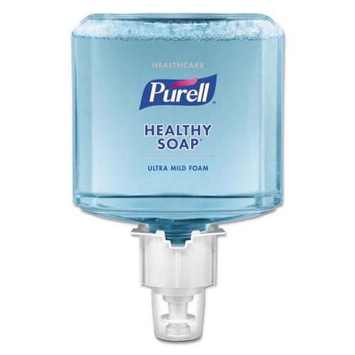 PURELL® Healthcare HEALTHY SOAP Ultramild Foam, 1200 mL, For ES6 Dispensers, 2/CT