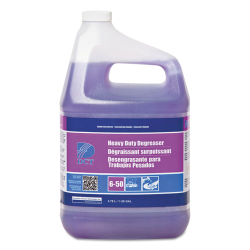 DCT Heavy Duty Degreaser, Acidic Scent, 1 gal Bottle, 4/Carton