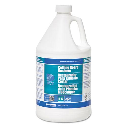 DCT Cutting Board Restorer, Chlorine Scent, 1 gal Bottle, 4/Carton
