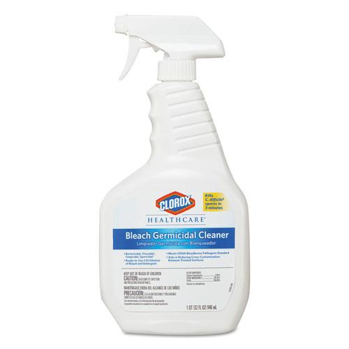 Bleach Germicidal Cleaner, 32 oz Spray Bottle