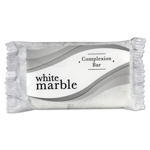 Individually Wrapped Basics Bar Soap,  3/4 Bar, 1000/Carton