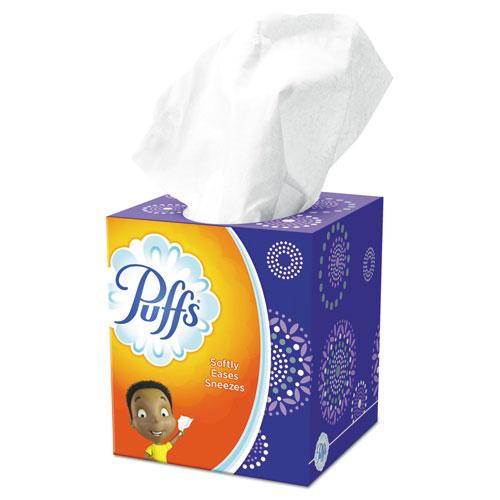 Facial Tissue, 2-Ply, White, 64 Sheets/Box