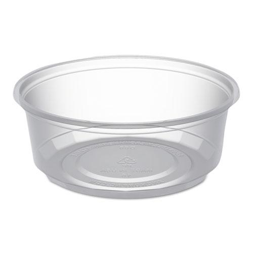 Microlite Deli Tub, 8 Oz, Clear, 500/carton