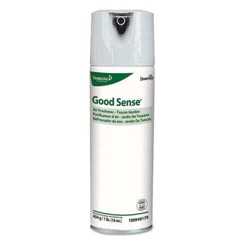 Diversey™ Good Sense Air Freshener, Tuscan Garden, 16 oz, 6/Carton