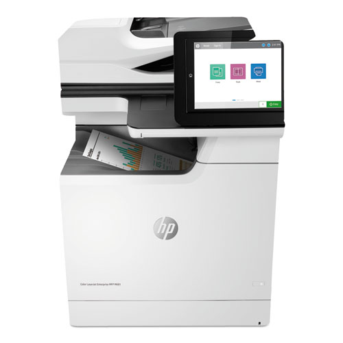 Color LaserJet Enterprise MFP M681dh, Copy/Print/Scan