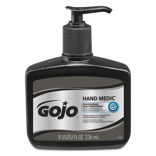 HAND MEDIC Professional Skin Conditioner, 8 oz Pump Bottle, 6/Carton