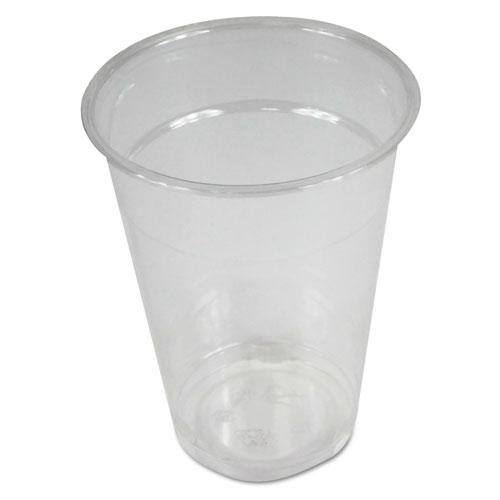 Boardwalk® Clear Plastic Cold Cups, 9 oz, 1000/Carton
