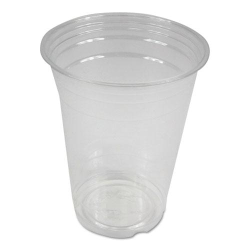 Boardwalk® Clear Plastic Cold Cups, 16 oz, 1000/Carton