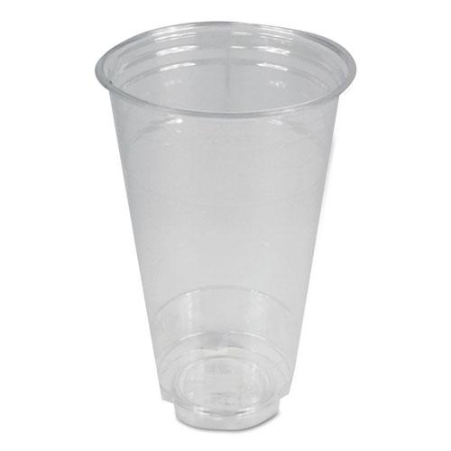 Boardwalk® Clear Plastic Cold Cups, 24 oz, 600/Carton