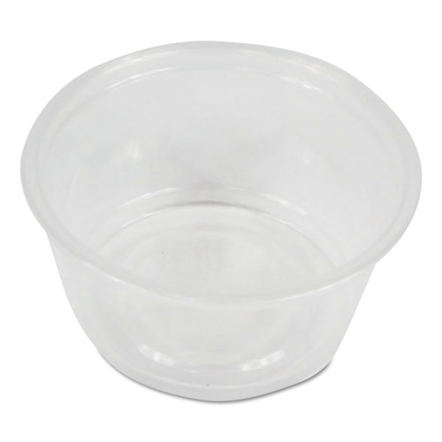 Souffl/Portion Cups, 2 oz, Polypropylene, 20 Cups/Sleeve, 125 Sleeves/Carton