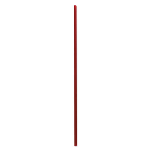 "Boardwalk® Single-Tube Stir-Straws, 6"", Red, 10000/Carton"