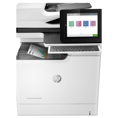 Color LaserJet Enterprise Flow MFP M681f, Copy/Fax/Print/Scan