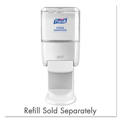 PURELL® Push-Style Hand Sanitizer Dispenser, White, 1200 mL