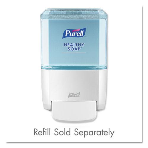"PURELL® ES4 Soap Push-Style Dispenser, 1200mL, 4.88"" x 8.19"" x 11.38"", White"