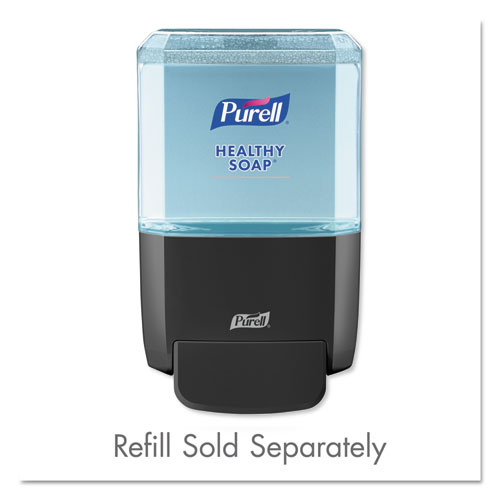 "PURELL® ES4 Soap Push-Style Dispenser, 1200mL, 4.88"" x 8.19"" x 11.38"", White"