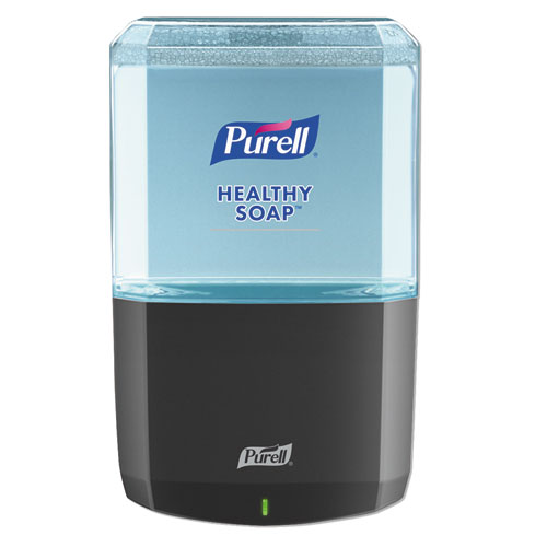 "PURELL® ES8 Soap Touch-Free Dispenser, 1200mL, 5.25"" x 8.56"" x 12.13"", Graphite"