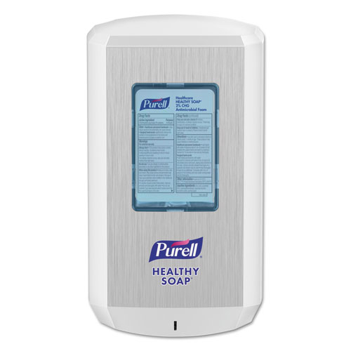 "PURELL® CS6 Soap Touch-Free Dispenser, 1200mL, 4.88"" x 8.19"" x 11.38"", White"