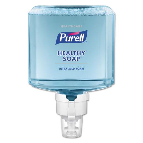 PURELL® Healthcare HEALTHY SOAP Ultra Mild Foam ES8 Refill, Clean, 1200 mL, 2/CT