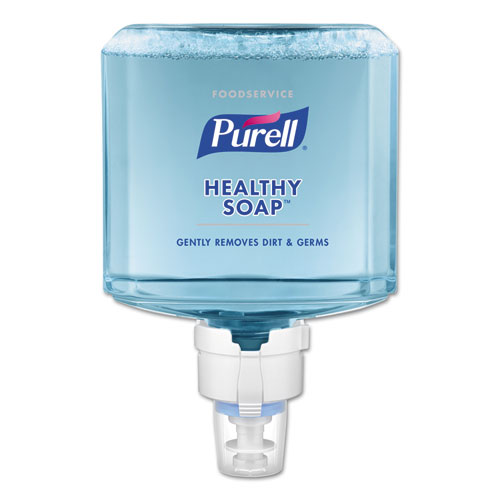 PURELL® Foodservice HEALTHY SOAP Gentle Foam ES8 Refill, Clean, 1200 mL, 2/CT