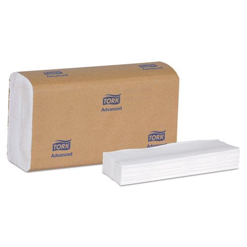 Tork® Advanced Multifold Hand Towel, 8.4 x 14.5, White, 150/Pack, 16 Packs/Carton