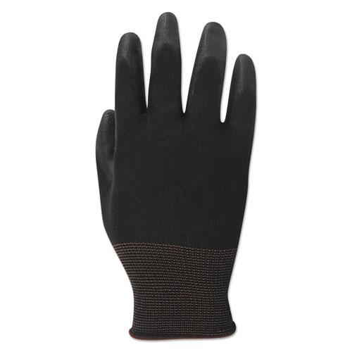 PU Palm Coated Gloves, Black, Size 11 (2X-Large), 1 Dozen