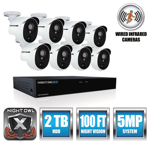 8 Channel Extreme HD Video Security DVR, 5MP Resolution