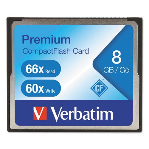 8GB 66X Premium CompactFlash Memory Card