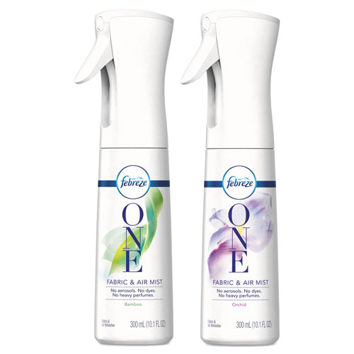 Febreze® ONE Fabric and Air Mist, Bamboo, 300 ml, 6/Carton