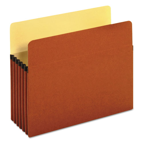 "Redrope Expanding File Pockets, 5.25"" Expansion, Letter Size, Redrope, 10/Box 
