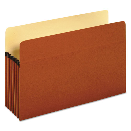 "Redrope Expanding File Pockets, 5.25"" Expansion, Legal Size, Redrope, 10/Box 