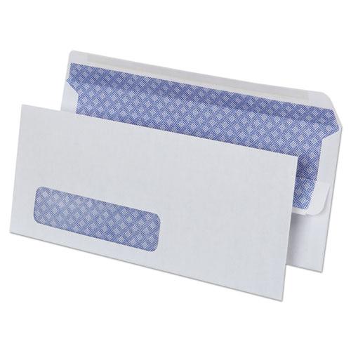 Self-Seal Business Envelope, #10, Square Flap, Self-Adhesive Closure, 4.13 x 9.5, White, 500/Box